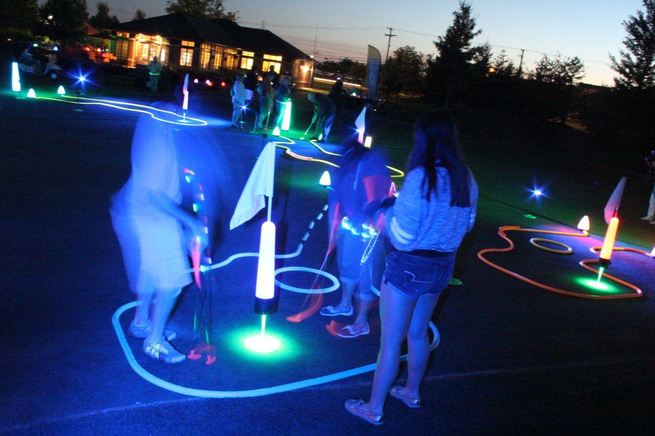Night Golf Fundraiser Glowgear Night Golf