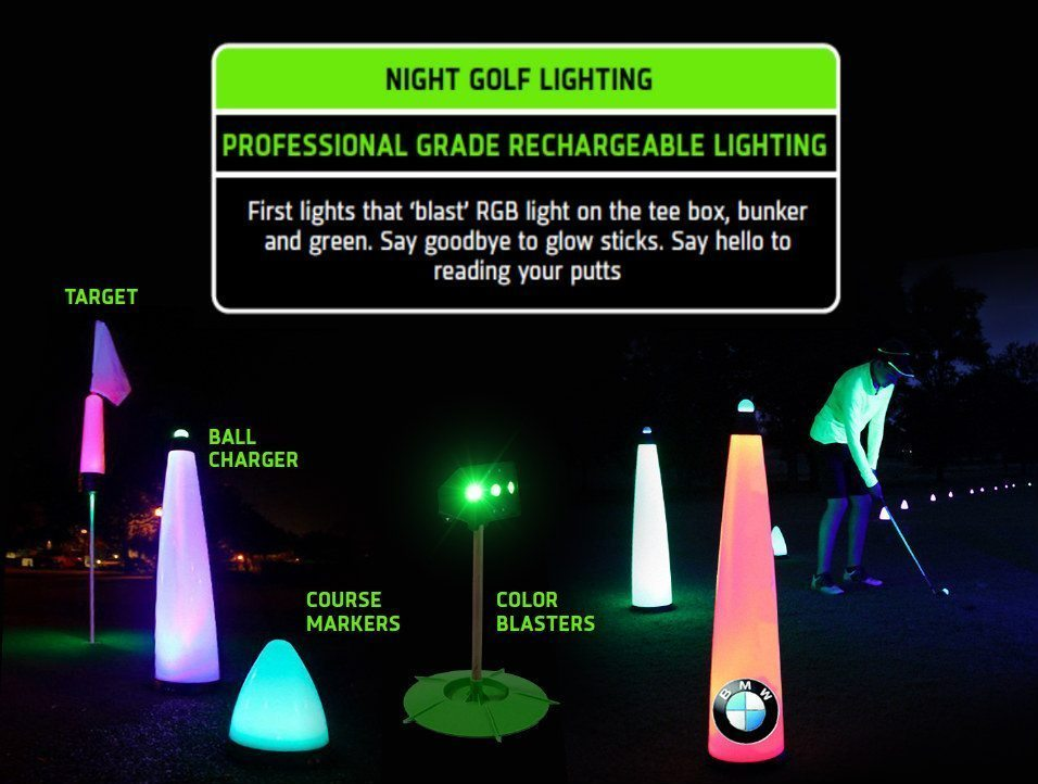 NIGHT GOLF LIGHITNG