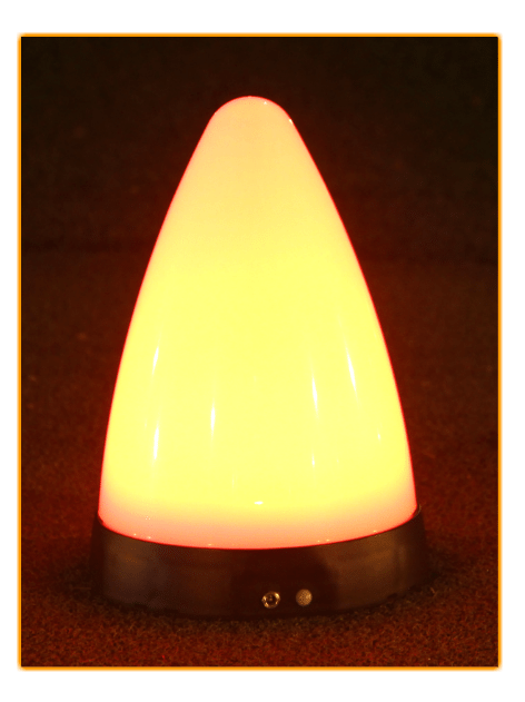 night golf marker light orange