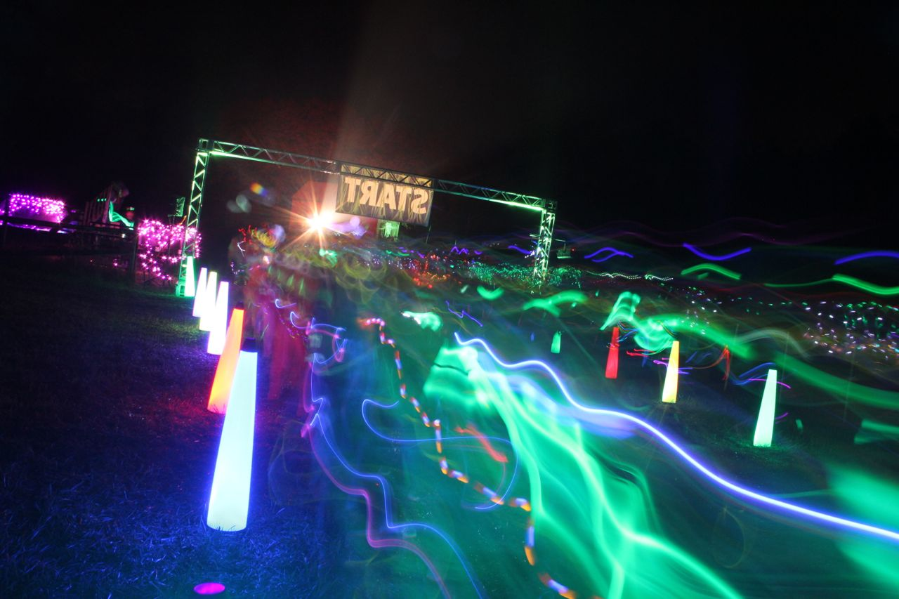 the start of an electric run in Maryland