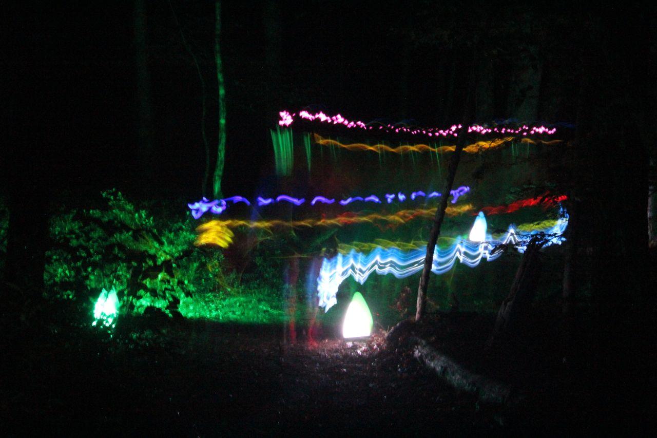 very cool neon run photos