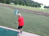 junior golf games hitting to targets