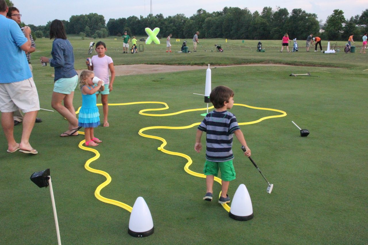 junior golf putting games