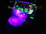 glow in the dark golf carts