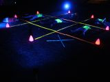tic tac toe party lights