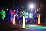 glow run lighting