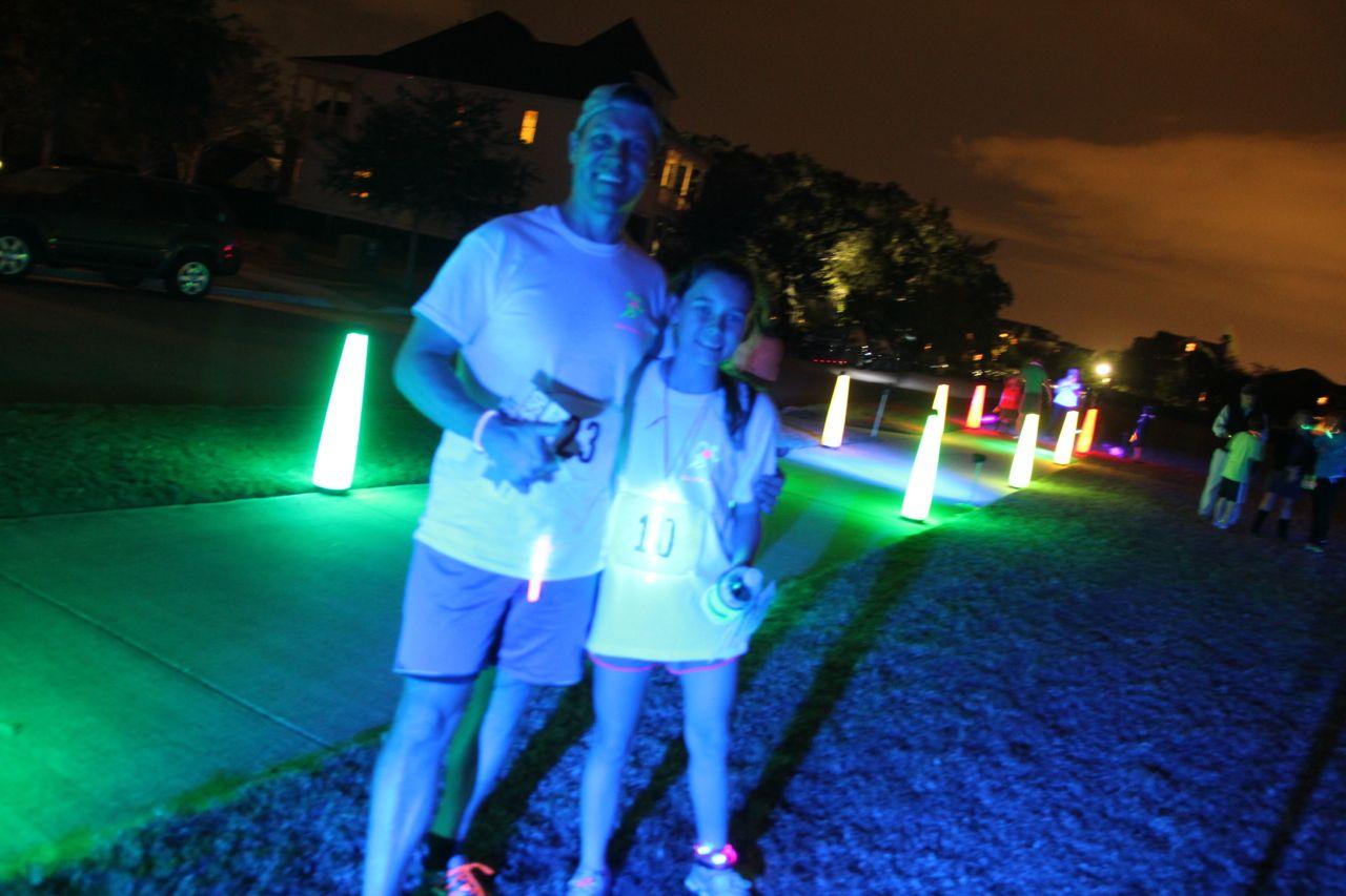 glow run winners