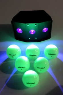 Try playing the best night golf ball and glow blaster