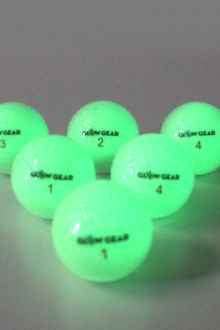 experience the brightest night golf ball in golf