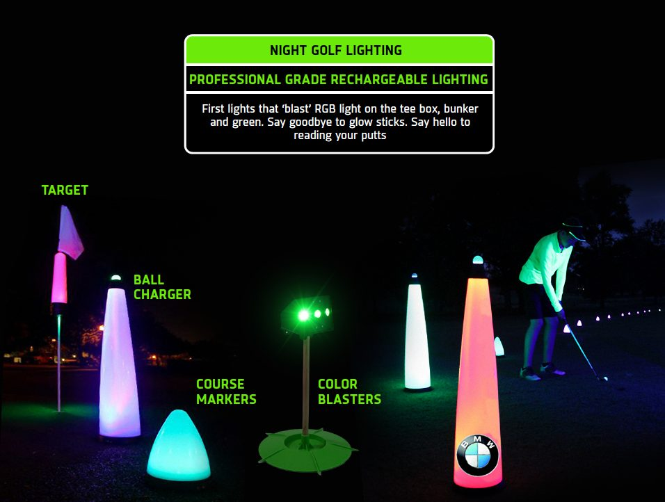 What are the best night golf lighting supplies