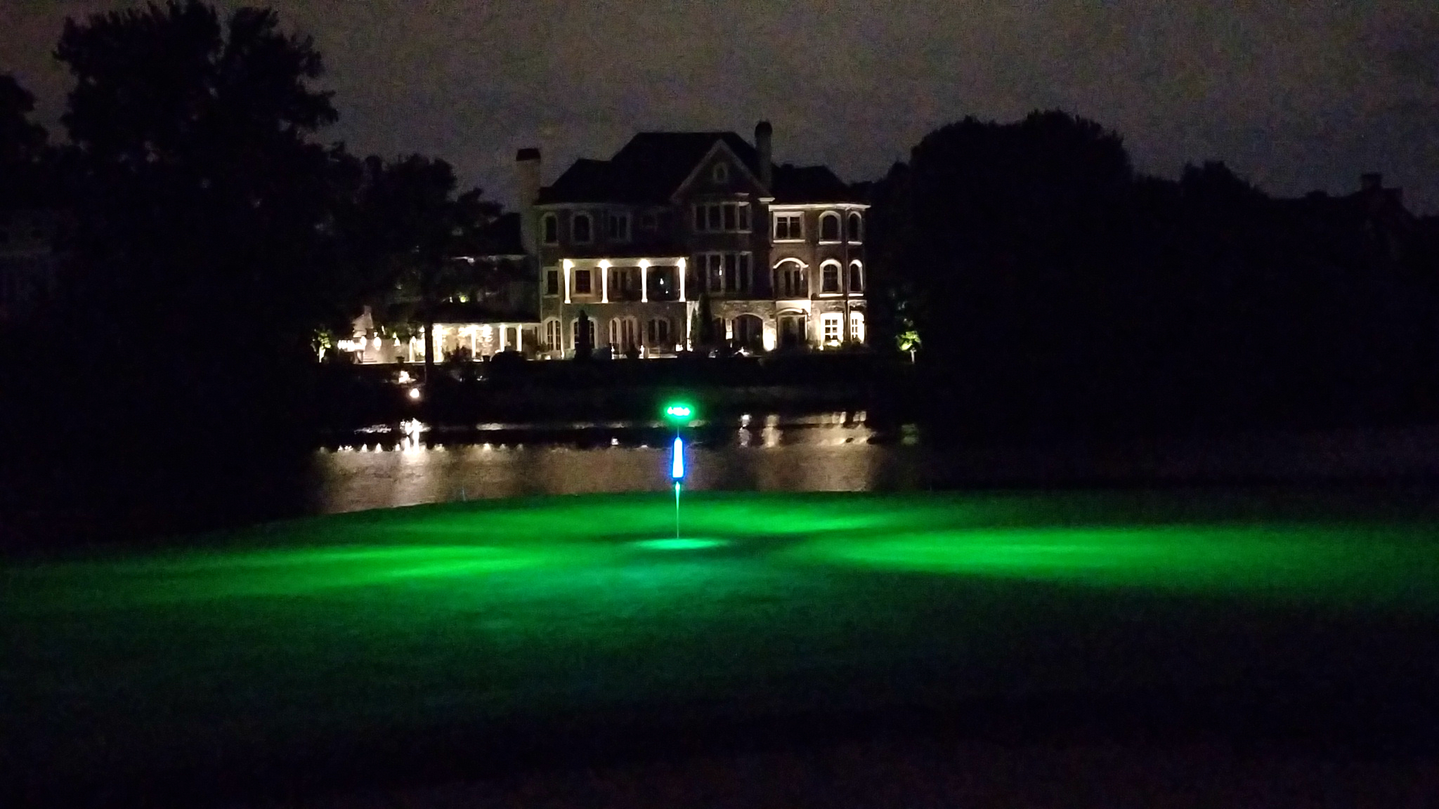These are golf lights for putting greens