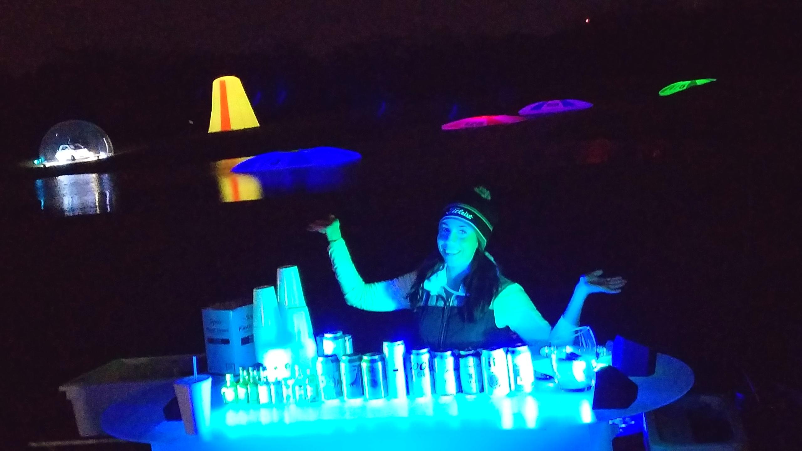 bartender and water range