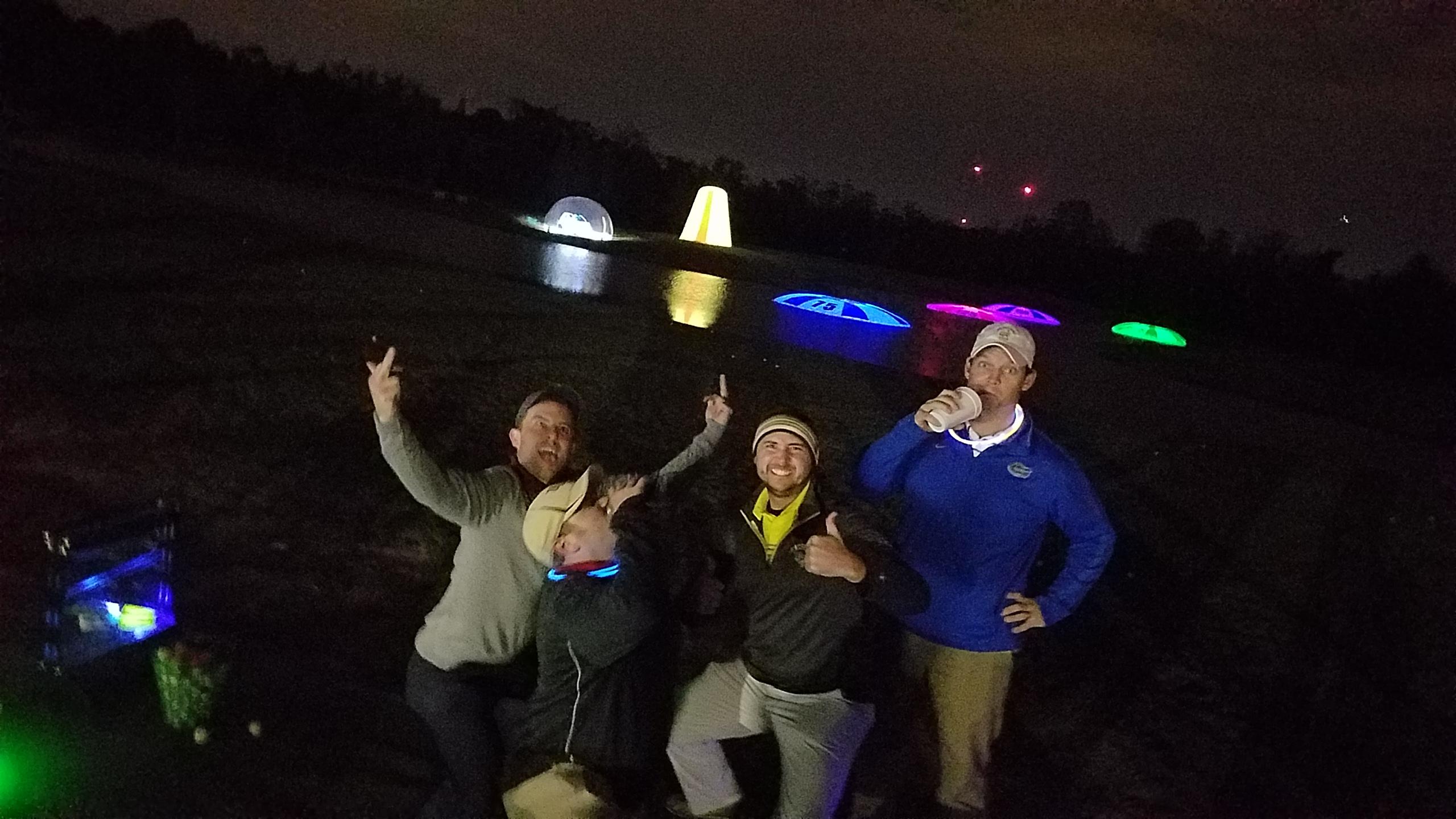 Golfers winning