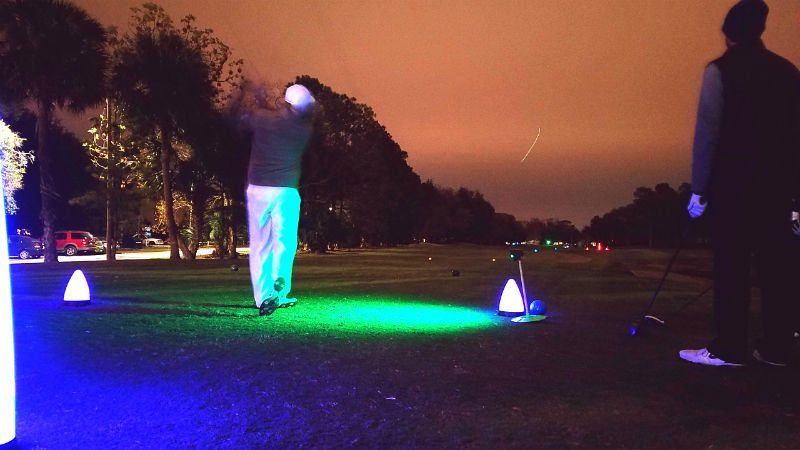 growing the game of golf with night golf