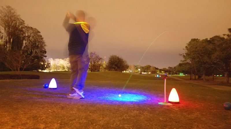nightflyer golf shot