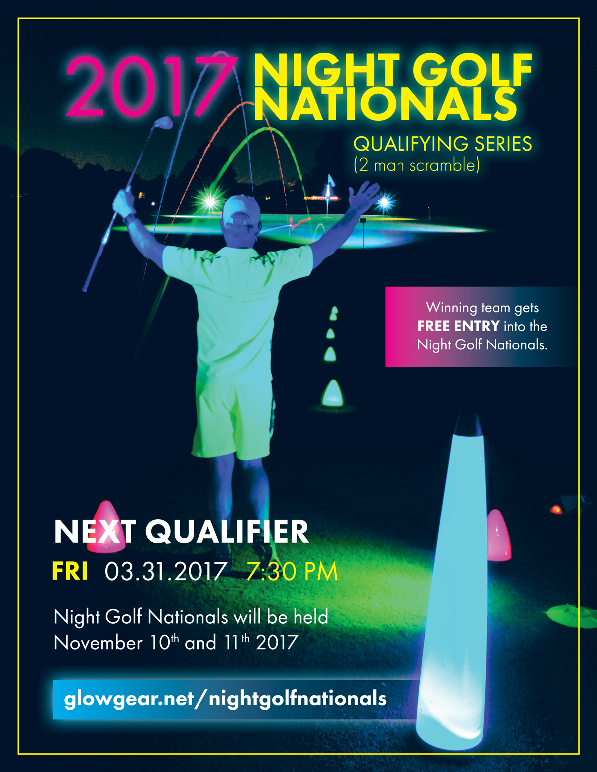 night-golf-nationals-2017-print