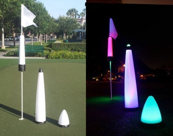Rechargeable night golf lights