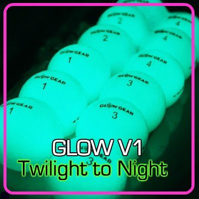 GLOW V1 1 night golf ball