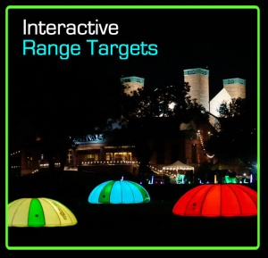 Interactive Driving Range targets 3 text
