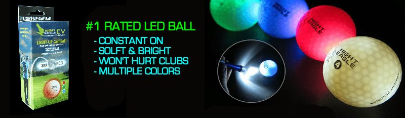 The best LED night golf ball in golf