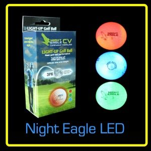 NIght Eagle LED Ball 3 pack