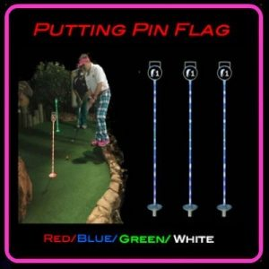 Putting pin flag