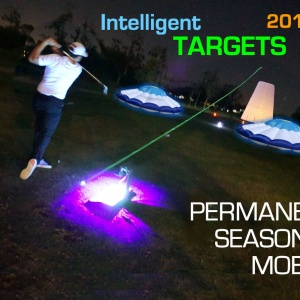 day and night golf targets