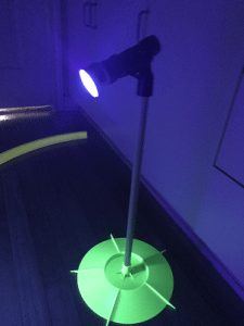 UV Cosmic Putting track light