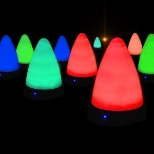 LED night golf and event marker cone