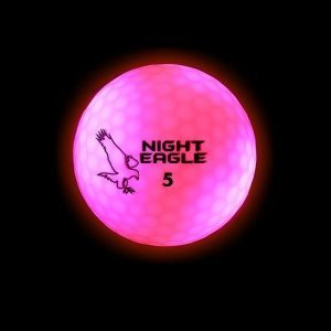 Night Eagle CV LED Golf Ball - PINK