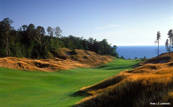 A Day At Arcadia Bluffs Glowgear Night Golf