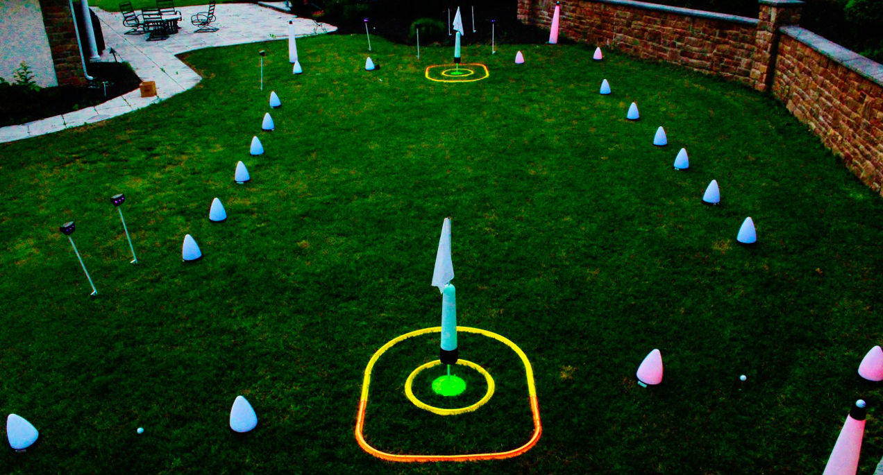 Backyard Golf Drinking Game