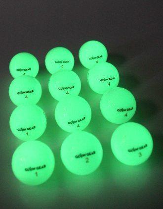 GlowV2 Night Golf balls - Glowgear night golf