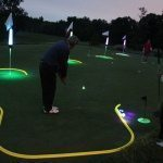 five target golf skills competition