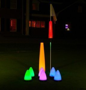 night golf targets