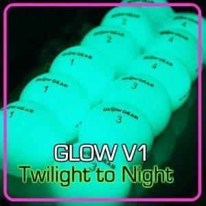 GLOW V1 1 night golf ball