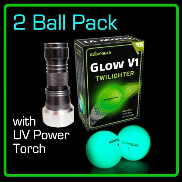 GLOW V1 best hitting night golf ball