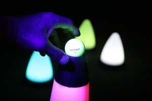 night golf party lights
