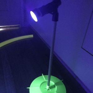 UV Cosmic Neon Putting track glow light