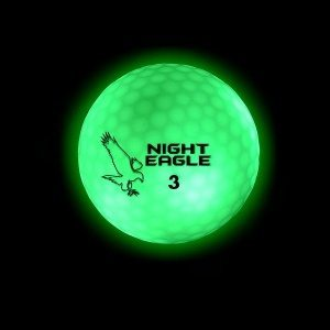 Night Eagle CV LED Golf Ball - GREEN