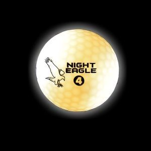 Night Eagle CV LED Golf Ball _ WHITE