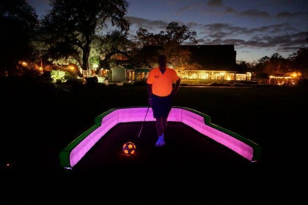 glow in the dark tee box