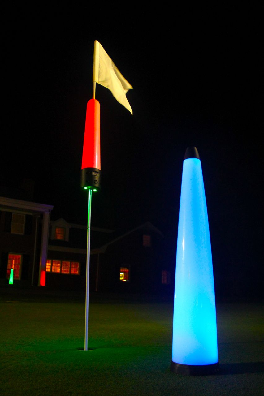 Flag pin – Golf Target Light – Rechargeable 9