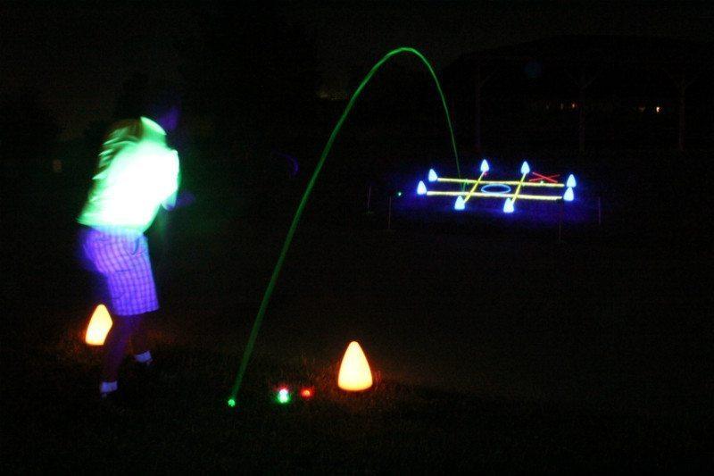 Glow V1 NIGHT GOLF BALL – 6 Ball Pack with UV Flashlight 9