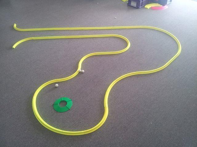 OFFICE GOLF – 1 hole putting track kit 9