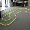 OFFICE GOLF - 1 hole putting track kit