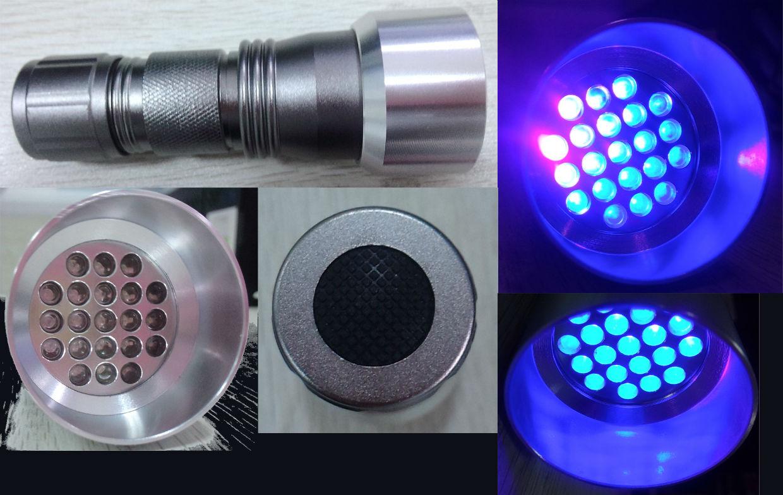 Glow V1 NIGHT GOLF BALL – 6 Ball Pack with UV Flashlight 3