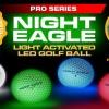 NIght Eagle CV LED Golf Ball - Green - pack of 6