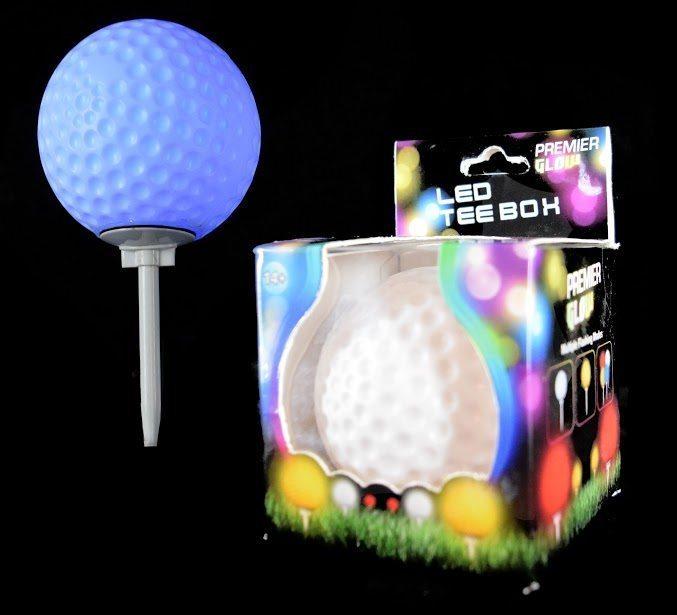 TEE BOX GOLF BALL SPIKE LIGHT 3