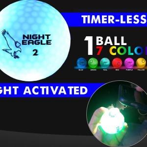 Night Eagle 7 color CV LED ball